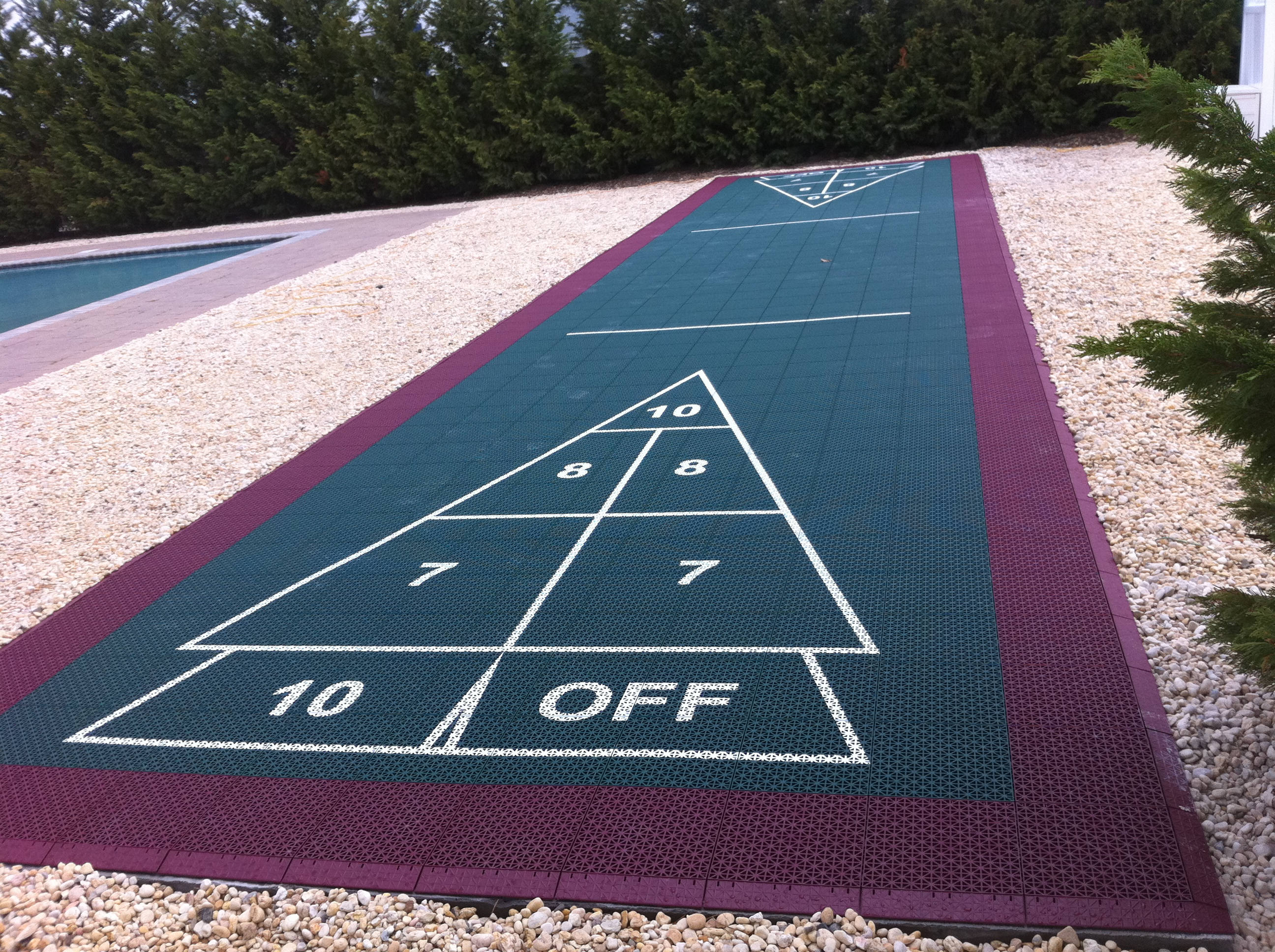 shuffleboard court builder outdoor shuffleboard u0026 other courts