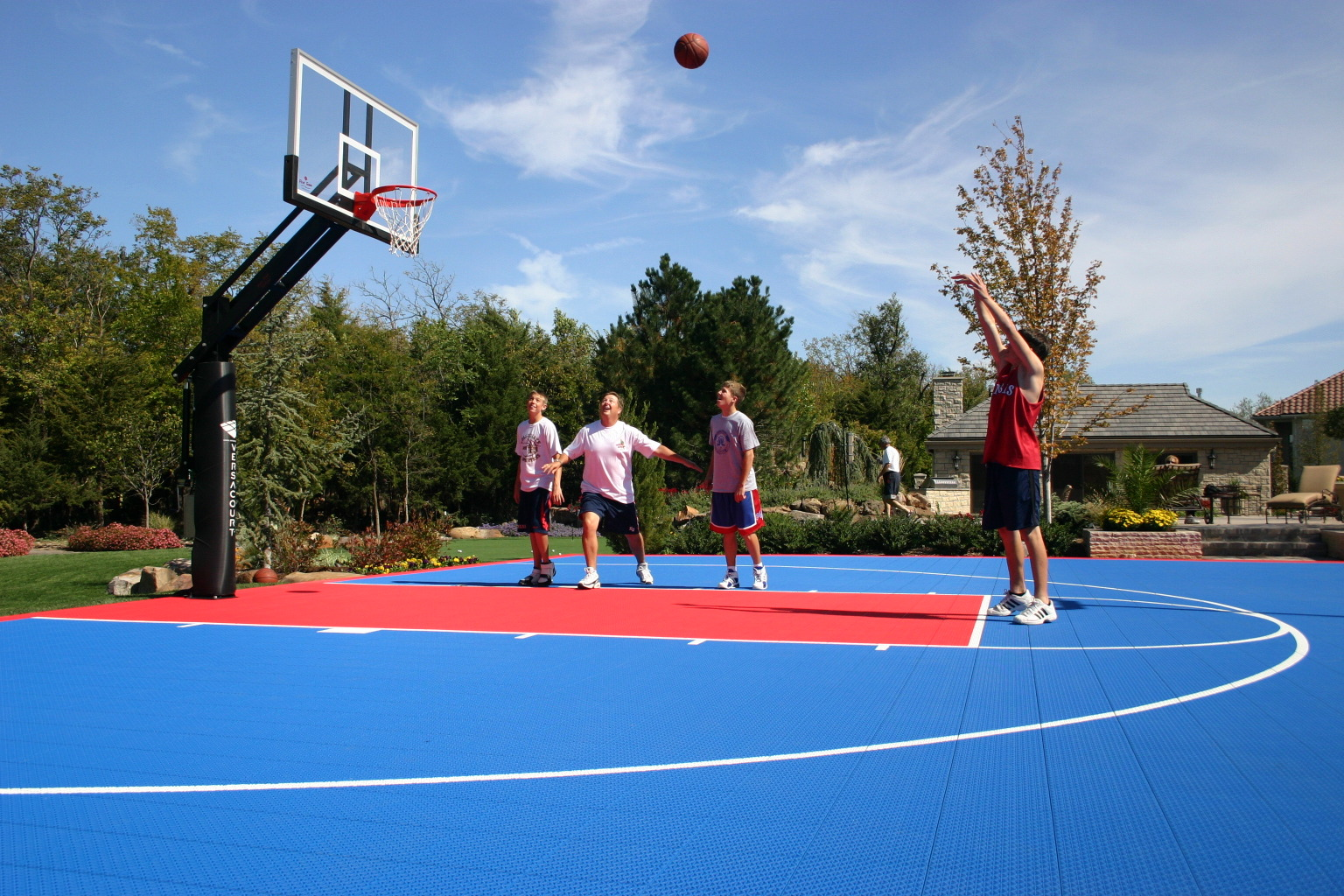 Basketball Goals Hoops 400 Off When You Buy A Court Nj Pa Ny De