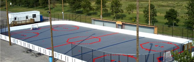 Hockey RinkCourt Builders NJ NY PA MD - Backyard roller hockey rink