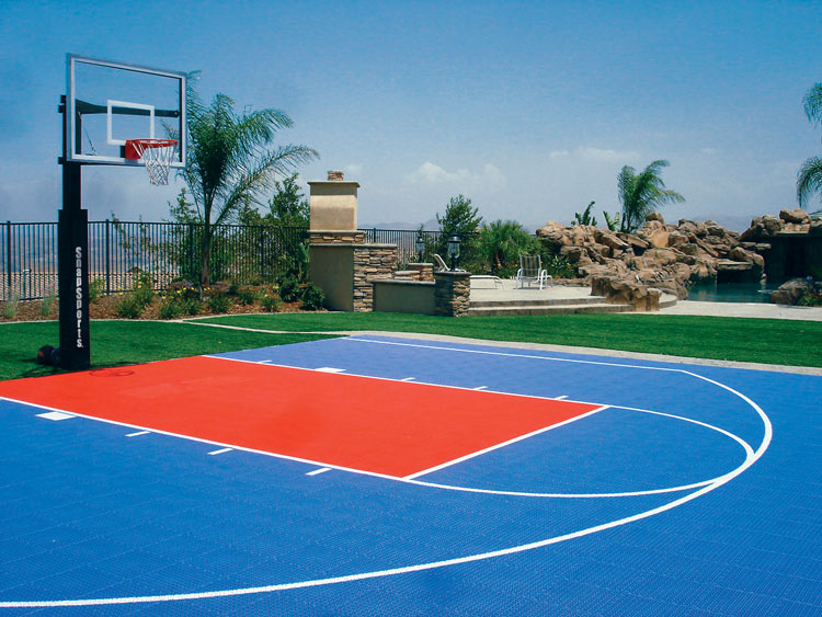 Best Paint Outdoor Basketball Court