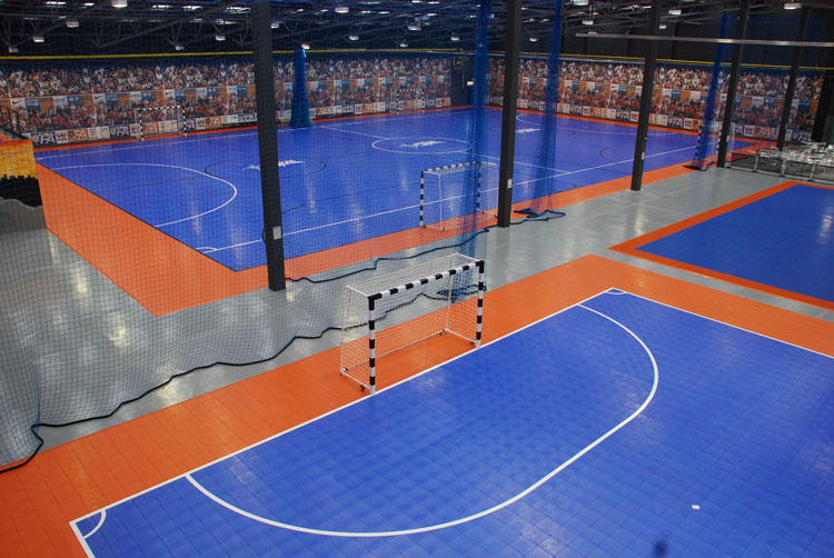 Commercial Residential Basketball Court Construction
